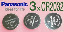 3 x CR2032 ** Panasonic ** haltbar länger als 08/2026   aus DE-Berlin