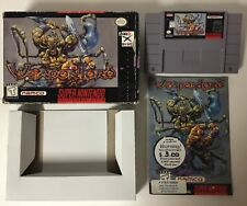 Weapon Lord Super Nintendo SNES CIB Complete