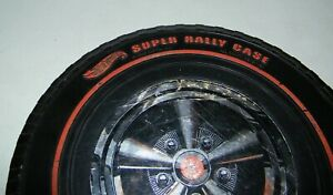 Vintage Original 1968 Redline Wheel Carrying Case Holds 24 Cars Good Condition