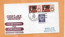 First Flight Eastern Airlines Kennedy Ny To Panama Apr 24,1966