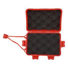 L /& M 2x Portable Foam Padded Hunting Arrowheads Box for Arrow Heads Tools