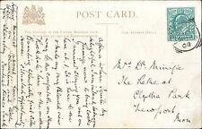 Mrs Minifie. The Retreat, Clytha Park Newport, Monmouthshire. 1904  JE.1504