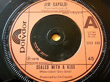"JIM CAPALDI - SEALED WITH A KISS  7"" VINYL"