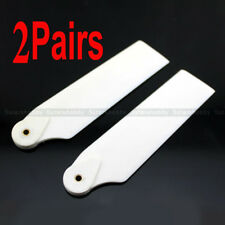 2Pairs Plastic Tail Rotor Blade for Trex 550 600 RC Helicopter