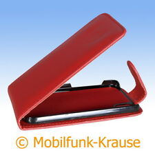 Funda abatible, funda, estuche, funda para móvil F. lg p970 Optimus black (rojo)