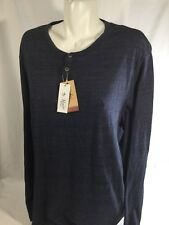Penguins Men Wolf Gray Scoop Neck Shir Long Sleeve Nordstorm Stretch  Size XL