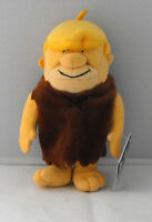 RARE HANNA BARBERA The Flintstones BARNEY Bean Bag Warner Bros 1999 MINT