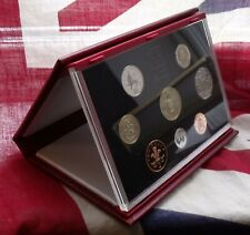 More details for 1994 royal mint uk proof deluxe 8 coin set inc special £2 & 50p with slip case