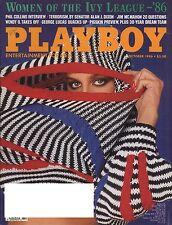 US Playboy Magazine 1986-10 Wendy Williams, Katherine Hushaw