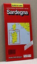 SARDEGNA [carte stradali delle regioni, euro cart, studio F.M.B.Bologna]