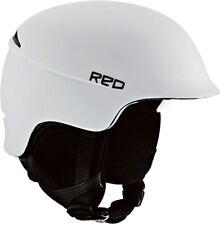 RED Theory Ski Snowboard  Casco Blanco Helmet White Small (55-57 CM)