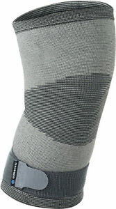 Rehband QD Knitted Knee Sleeve Support - Grey