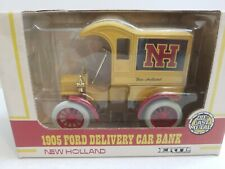 ERTL New Holland 1905 Ford Delivery Car Die-Cast Bank #379 NIB