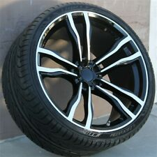 """(4)Set 20"""" 20x10/20x11 5X120 Staggered Wheel/Tire Pkg Fit Bmw X5 X6 X5M X6M"""