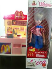 Licca-chan McDonald's Play Set and doll