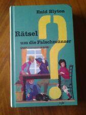 RÄTSEL um die Falschmünzer - Enid Blyton Verlag Bertelsmann 1977