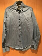 """Blue Slim Fit Shirt From Zara. Size Small. 14.5-15"""" collar"""