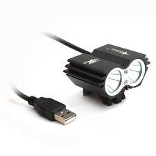 Solar Storm 8000LM X2 CREE XM-L T6 USB Waterproof Lamp LED Bicycle Headlight KY