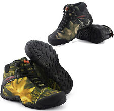 Men's Outdoor Hiking Hunting Camping Climbing Waterproof Camo Ankle Boots Shoes
