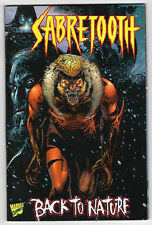 SABRETOOTH BACK TO NATURE TPB (vf-) X-Men