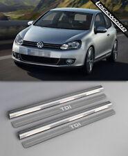 VW Touareg Mk2 rilasciato 2010 Acciaio Inossidabile Davanzale Protettori Calcio Piastre//