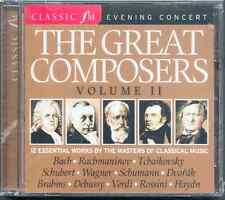 GREAT COMPOSERS VOL 2: CLASSIC FM CD (2008) WAGNER SCHUMANN DVORAK RACHMANINOV