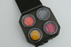 4x Genuine Tamron 30.5mm Screw In Filter Set