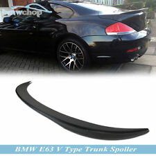 Stock In LA! BMW E63 2DR Coupe V Type Boot Trunk Rear Wing Spoiler 650i M6