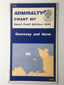 Admiralty Marine Navigation Chart 807 Small Craft Edition