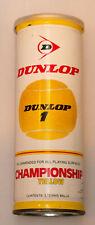 Vintage 1970s Dunlop Tennis Balls - New - Unopened