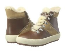 Gant Women's Amy Hi-Top shearling lined  boots / Trainers. Brown size UK 7.5 /42
