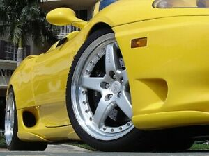 1999-2005 Ferrari 360 Modena H-Style 4pc Side Skirts (UNPAINTED)