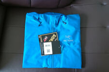 Arcteryx Men Alpha FL GORETEX Ski Snowboard Alpine Shell Jacket - Borneo Blue XL