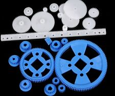 XYCL1005 23 Kinds Plastic Single Double Crown Worm Spindle Gear Kit For Robot