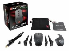 MSI Clutch GM70 Wireless/Wired Rechargeable GAMING Mouse, RGB Mystic Light