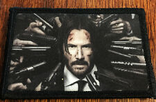 John Wick 2 Morale Patch Tactical Military Army Badge Hook Flag Badge Glock 1911