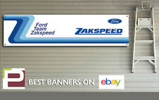 Ford Team Zakspeed Banner, for Workshop / Garage, Rally, Pit Lane, Escort, Capri