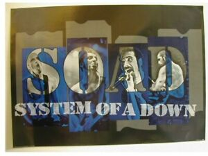 System Of a Down Poster S.O.A.D. Soad Band Shot Promo
