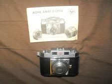AGFI Karat 35mm camera solinar 1:2.8/50  made in germany
