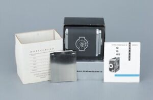 Hasselblad A12 Film Magazine. 12 exposures with 120 Roll Film