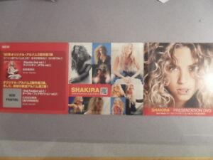 Shakira/Presentation A Superstar in any language Japan Promo 2005 Digipack/DVD