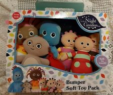 In The Night Garden Bumper Soft Toy 6 Pack IgglePiggle, Upsy Daisy Makka Pakka