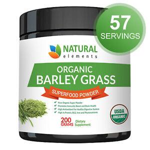 Barley Grass Powder - USDA Certified Organic Barley Grass Powder - Non-GMO