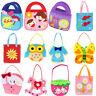 Fantastic Non-woven Cloth Bag Cartoon Handmade DIY Applique Bag Crafts Kids ToyF