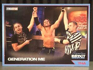 2011 TNA Generation Me WWE Wrestling Card AEW Young Bucks The Elite NJPW ROH Dx