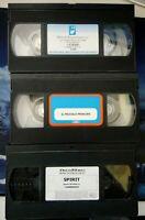 LOTTO N° 3 VIDEOCASSETTE VHS - PREZZEMOLO / IL PICCOLO PRINCIPE / SPIRIT