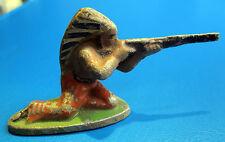 Figurine QUIRALU - INDIEN FUSIL ASSIS - Aluminium