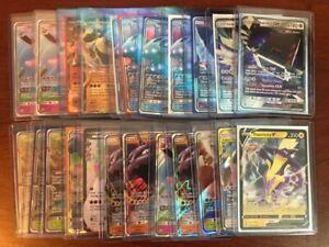 Pokemon Card Bundle x 50 - Job lot Guaranteed 1 EX, GX or V + 8 Holos / Rares