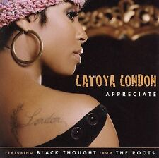 London, Latoya : Appreciate  Every Part of Me  All By M CD