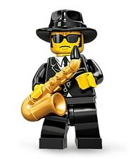 Lego collectible minifig series 11 Saxaphone player Jazz blues suit city set